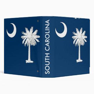 Binder with Flag of South Carolina, USA