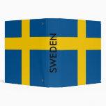 Binder with Flag of Sweden