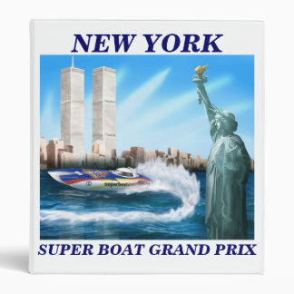 Binder With New York Race Logo
