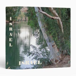 Binder With River Jordan Israel Background Tile