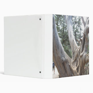 Binder with Tree Branches