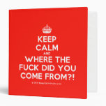 [Crown] keep calm and where the fuck did you come from?!  Binders