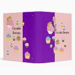 Binders Cupcake Recipes Binder