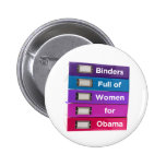 Binders Full of Women for Obama Button