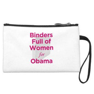Binders Full of Women for Obama Clutch Wristlet Purse
