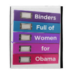 Binders Full of Women for Obama iPad Case
