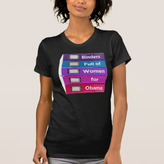 Binders Full of Women for Obama T-Shirt