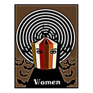 Binders Full of Women Scary Women Gifts Postcard