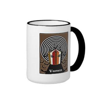 Binders Full of Women Scary Women Gifts Ringer Coffee Mug
