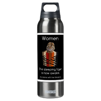 Binders Full of Women Sleeping Tiger 16 Oz Insulated SIGG Thermos Water Bottle