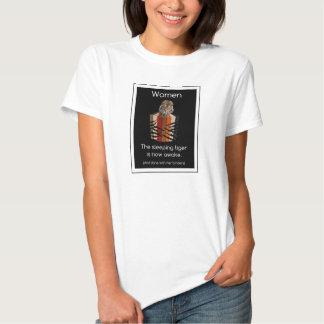 Binders Full of Women Sleeping Tiger Gifts Tshirts