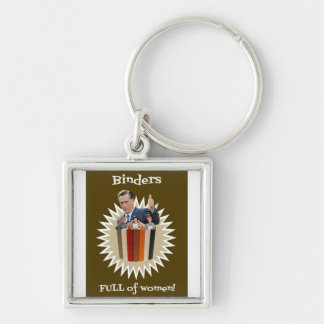 Binders Full of Women Thumbs Up! Gifts Keychain