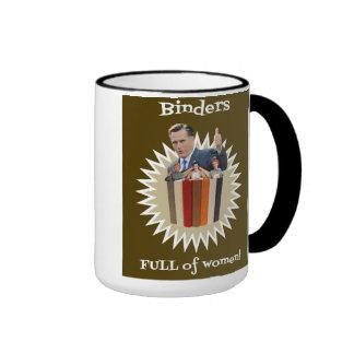 Binders Full of Women Thumbs Up! Gifts Ringer Coffee Mug