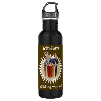 Binders Full of Women Thumbs Up! Water Bottle