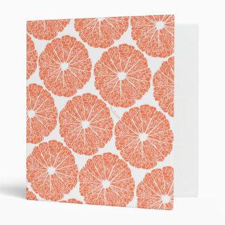Binders - Grapefruit to Suit