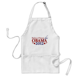 Binders of Women for Obama 2012 Adult Apron
