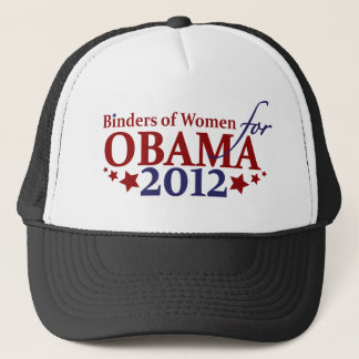 Binders of Women for Obama 2012 Trucker Hat