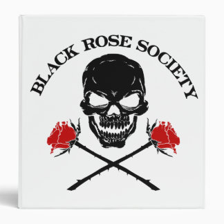 Binders Skull and Roses | Heartblaze