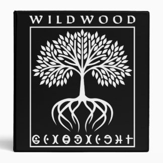 Binders Wildwood Blk | Heartblaze