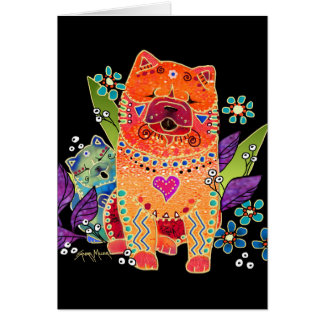 BINDI alisan tarjetas del perro chino