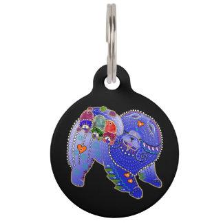 BINDI Chow family dog tag/jewelry Pet ID Tag
