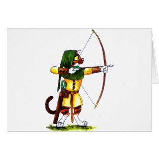 Bindi el Archer Tarjeta De Felicitación