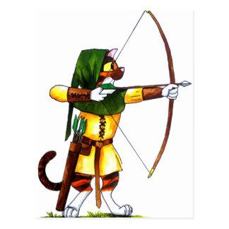 Bindi el Archer Tarjetas Postales
