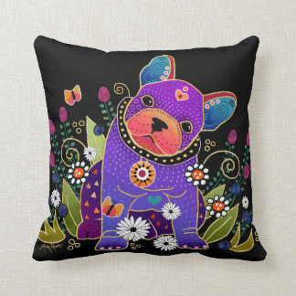 BINDI FRENCHIE- French Bulldog pillows