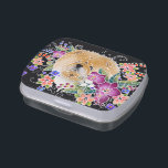 """BINDI GARDEN DANCE candy tin<br><div class=""""desc"""">These candy tins are so cute and make the best party favors,  dog show trophies and stocking stuffers!! Choose from many different artworks in my store</div>"""