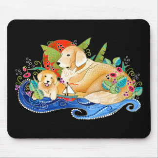BINDI GOLDEN RETRIEVER MOUSE PAD