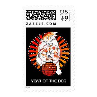 BINDI MI TANG Chow - Year of the Dog 2018 Postage