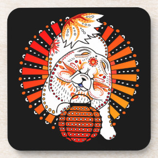 BINDI MI TANG - Chow Year of the Dog coaster set