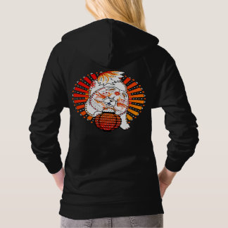 BINDI MI TANG - Chow - Year of the Dog-front/back Hoodie