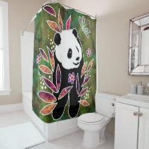 BINDI PANDA -shower curtain