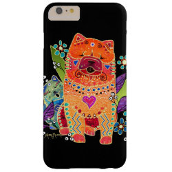 Case-Mate Barely There iPhone 6 Plus Case with Chow Chow Phone Cases design