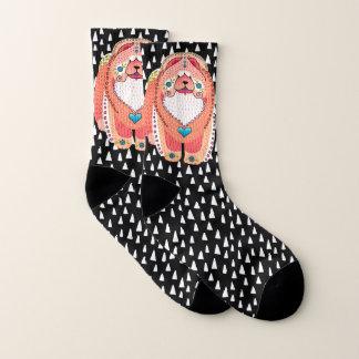 BINDI SOPHIE- apricot version Chow -   socks