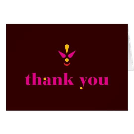 Bindi Thank You Card