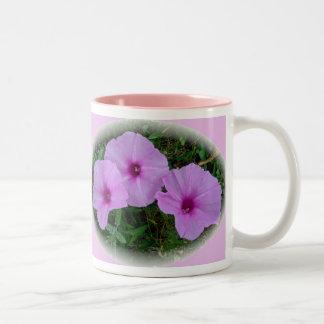 Bindweed Wildflower Series Two-Tone Coffee Mug