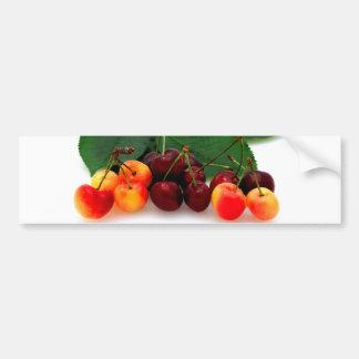 Bing And Rainier Cherries Bumper Sticker