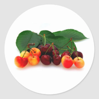 Bing And Rainier Cherries Stickers