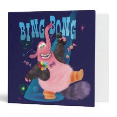 Bing Bong 3 Ring Binders