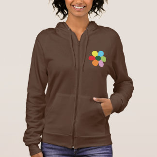 Bing Bong brown jacket with colored flower design