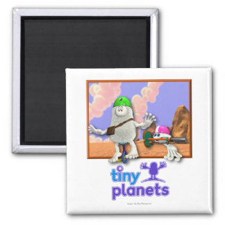 Bing & Bong - Easy Riders 2 Inch Square Magnet