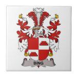 Bing Family Crest Ceramic Tile
