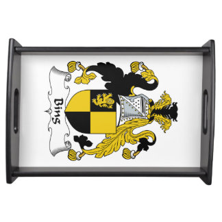 Bing Family Crest Food Trays