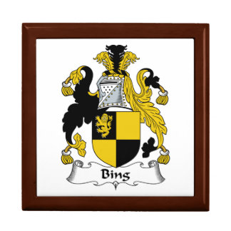 Bing Family Crest Gift Boxes