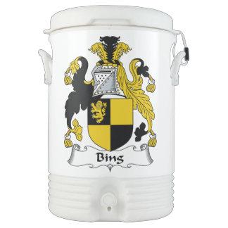 Bing Family Crest Igloo Beverage Cooler