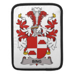 Bing Family Crest iPad Sleeve