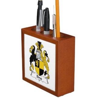 Bing Family Crest Pencil Holder