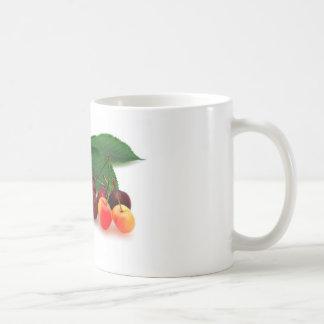 Bing y cerezas más lluviosas tazas de café